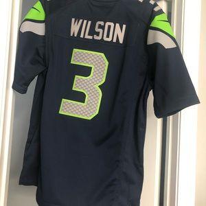 Nike Shirts - Russel Wilson Seahawks Jersey
